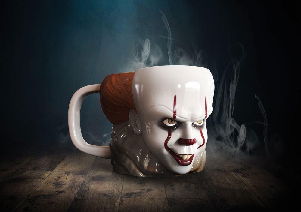 Stephen Kings It 2017 3D Mug Shaped Pennywise