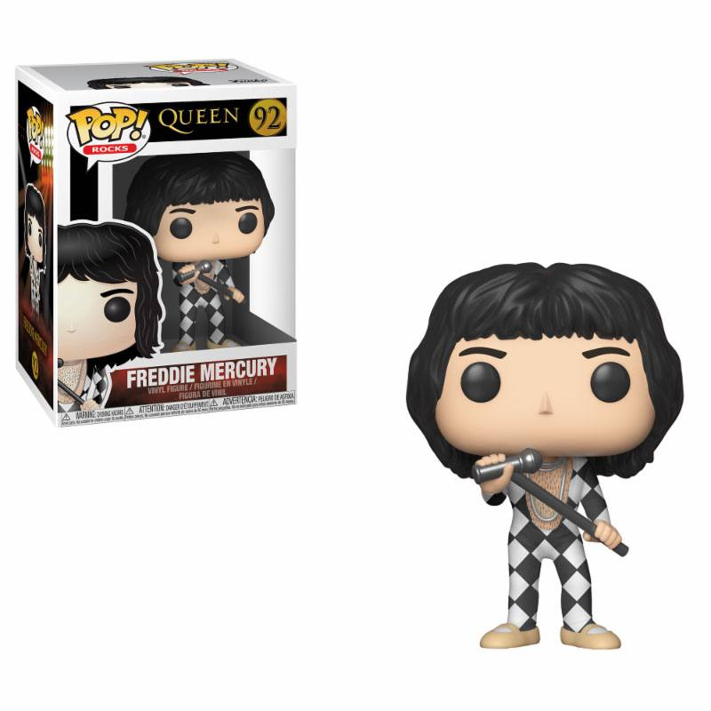 Queen POP! Rocks Vinyl Figure Freddy Mercury 9 cm