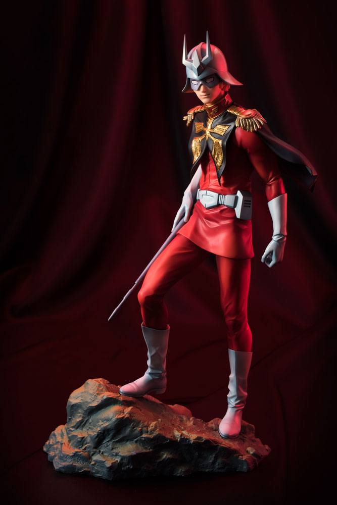 Mobile Suit Gundam GGG Statue Char Aznable 23 cm