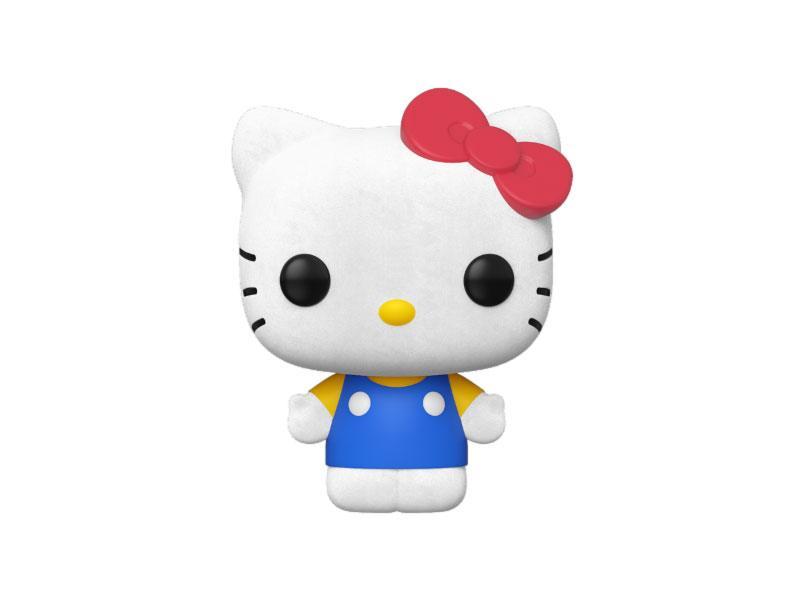 Hello Kitty POP! Sanrio Vinyl Figure Hello Kitty Classic (Flocked) 9 cm
