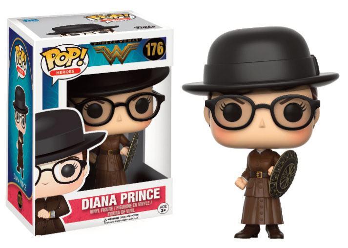Wonder Woman Movie POP! Heroes Vinyl Figure Diana Prince 9 cm