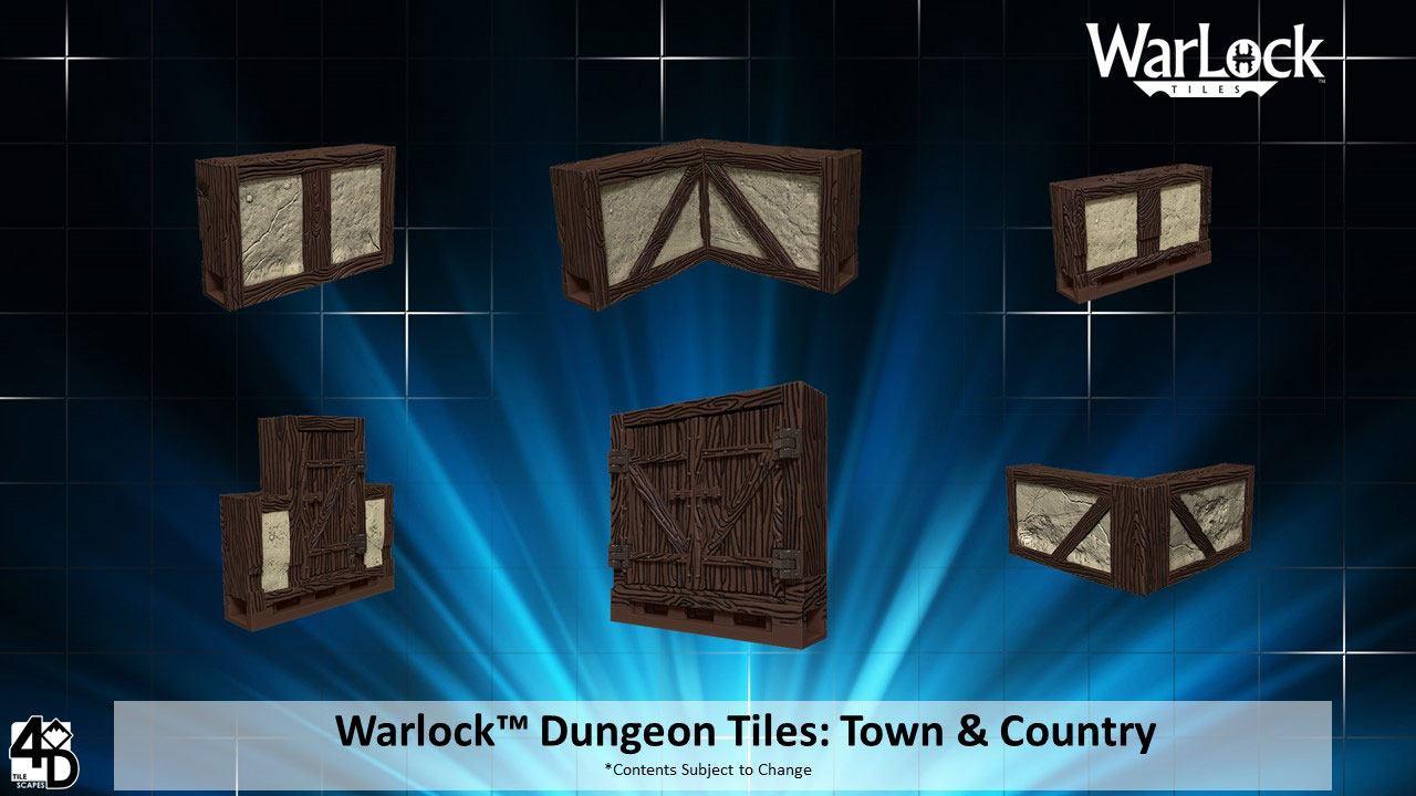 WarLock™ Tiles: Town & Village