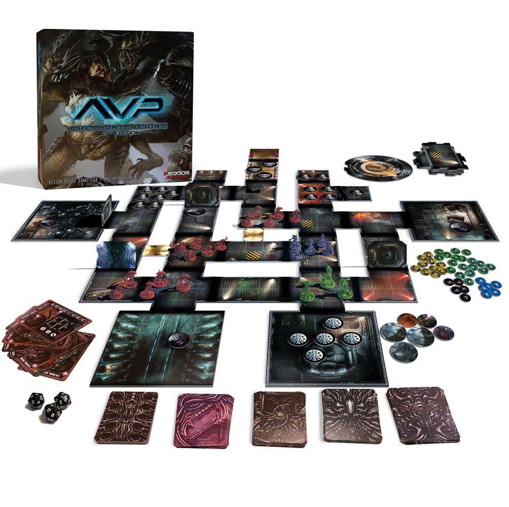 Alien vs. Predator Tabletop Game The Hunt Begins 2nd Edition