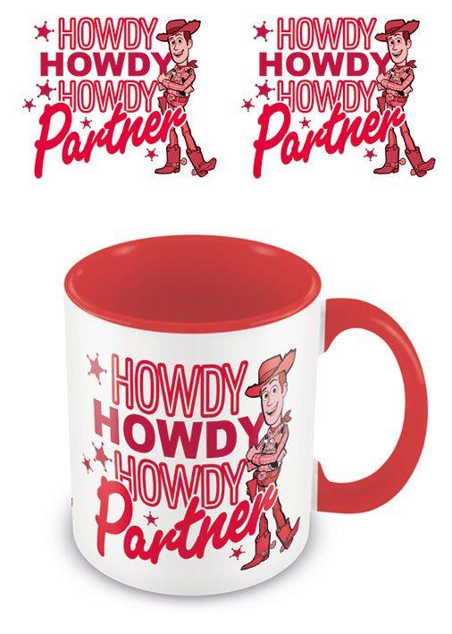 Toy Story Coloured Inner Mug Howdy Partner