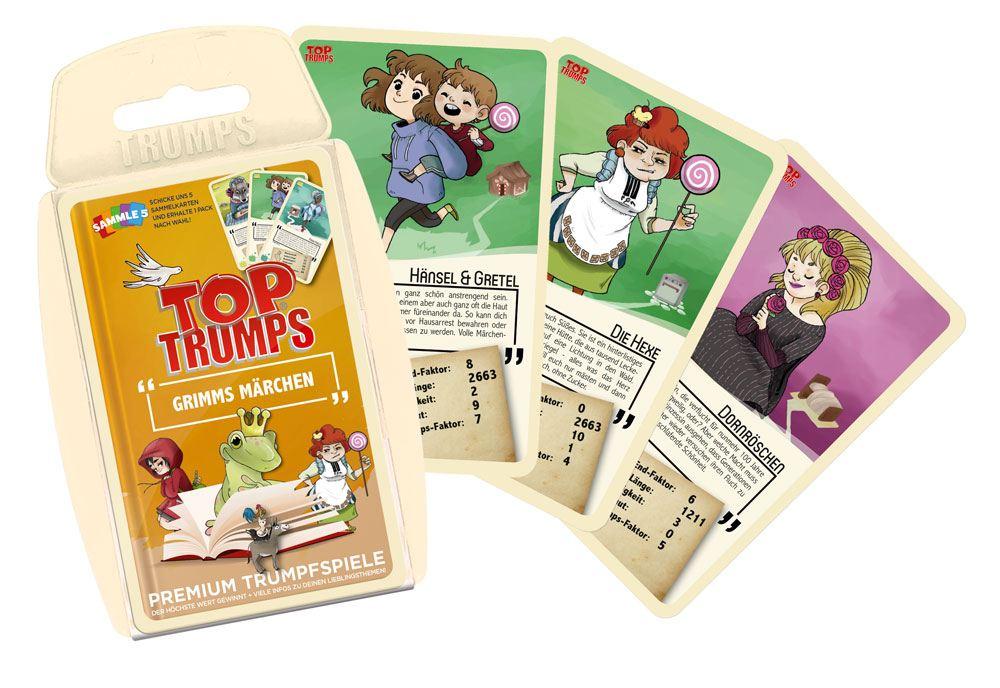 Grimm's Märchen Card Game Top Trumps *German Version*
