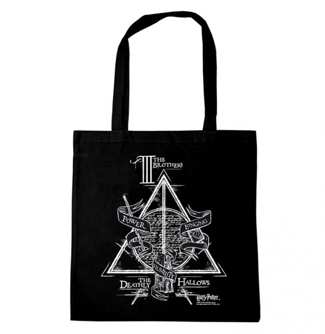 Harry Potter Tote Bag Three Brothers