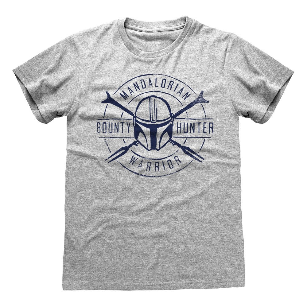 Star Wars The Mandalorian T-Shirt Warrior Emblem Size L