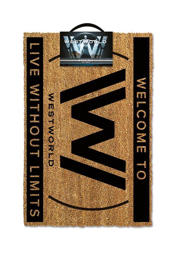 Westworld Doormat Live Without Limits 40 x 60 cm