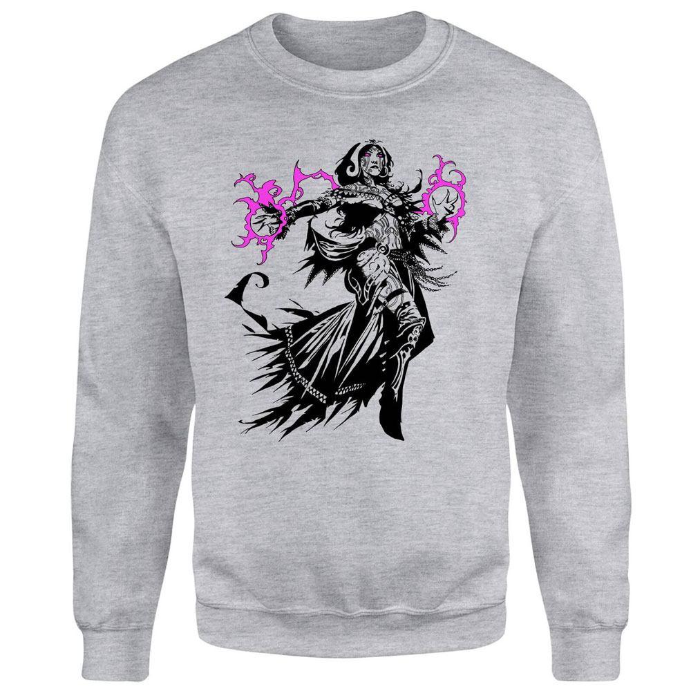 Magic the Gathering Sweatshirt Chandra Character Art Size XL