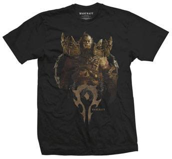 Warcraft T-Shirt Blackhand Comp Size M
