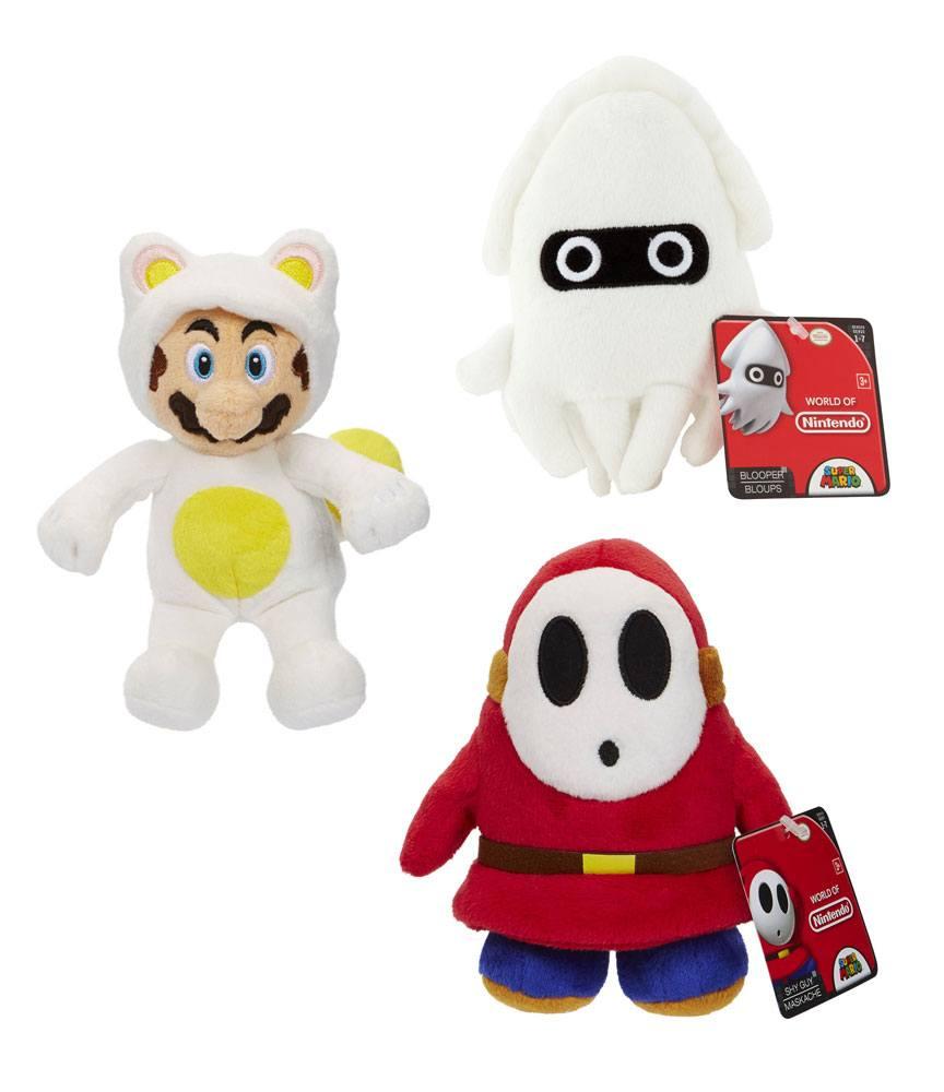 Super Mario World of Nintendo Plush Figures 15 cm Assortment (8)