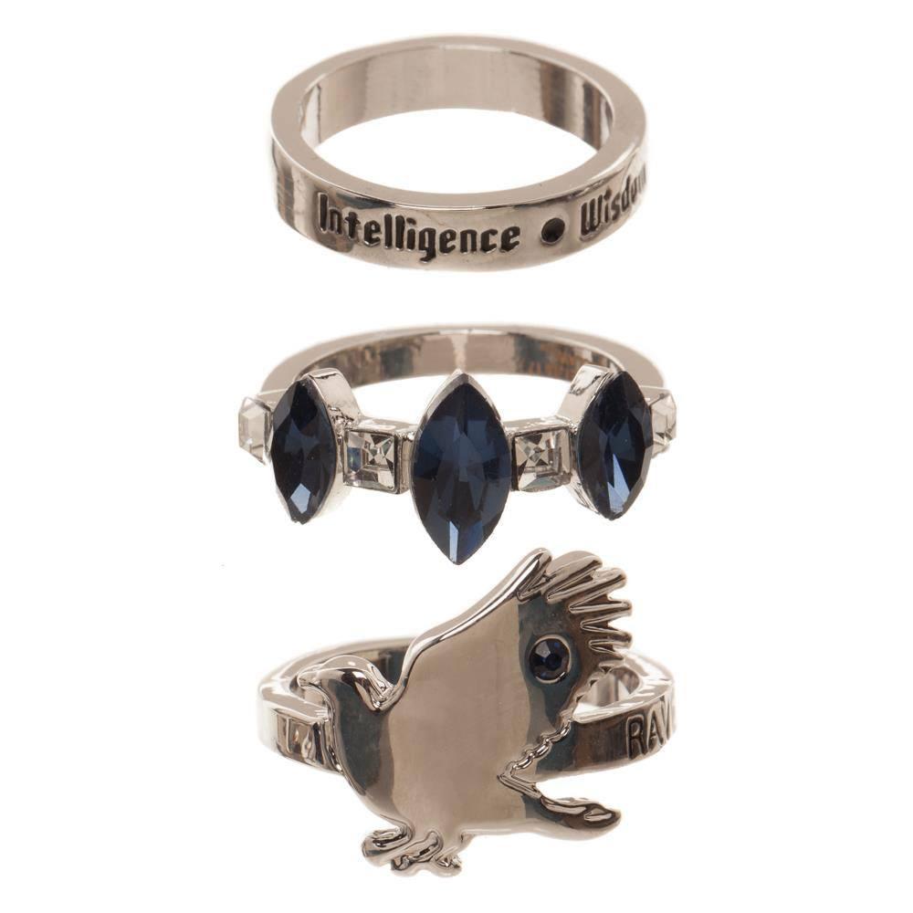 Harry Potter 3 Ring Set Ravenclaw