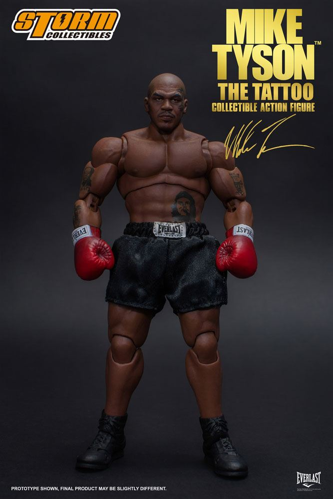 Mike Tyson Action Figure The Tattoo 18 cm