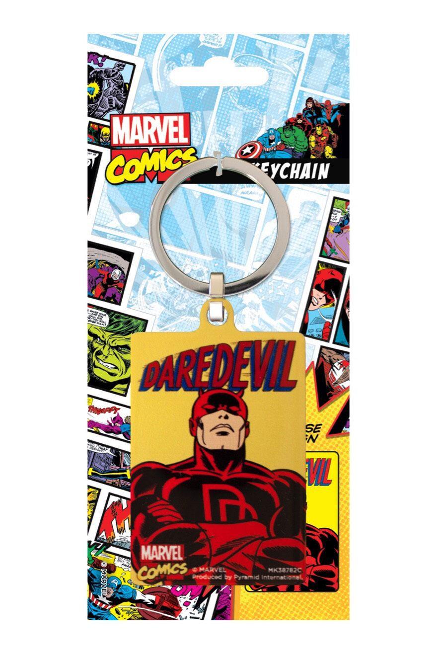 Marvel Comics Metal Keychain Daredevil 6 cm