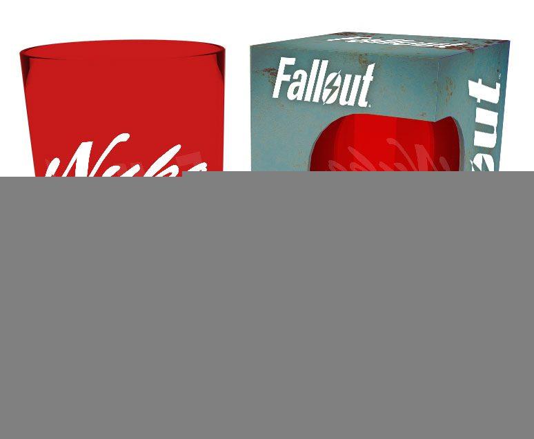 Fallout Premium Pint Glass Nuka Cola