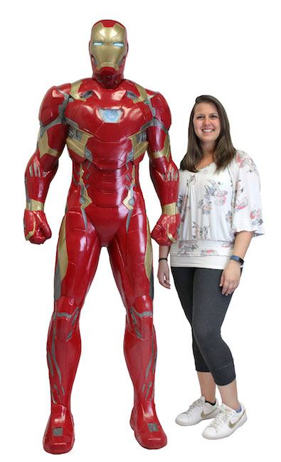Captain America Civil War Life-Size Statue Iron Man (Foam Rubber/Latex) 198 cm