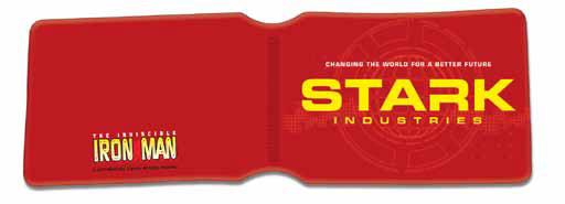 Marvel Travel Pass Holder Iron Man Stark Industries