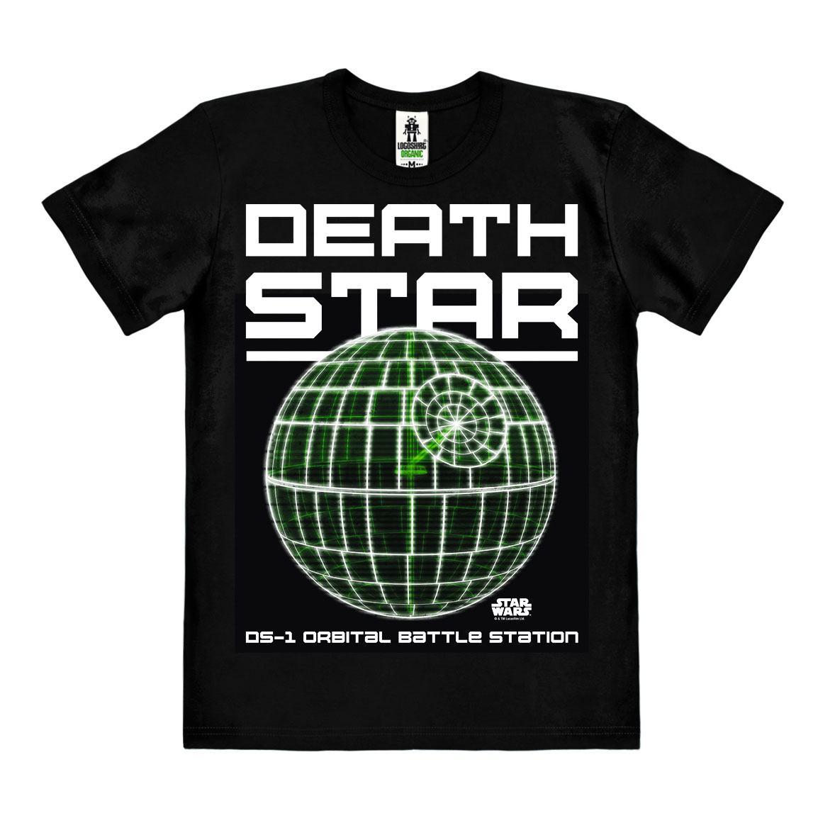 Star Wars Rogue One Easy Fit Organic T-Shirt Death Star Size XL