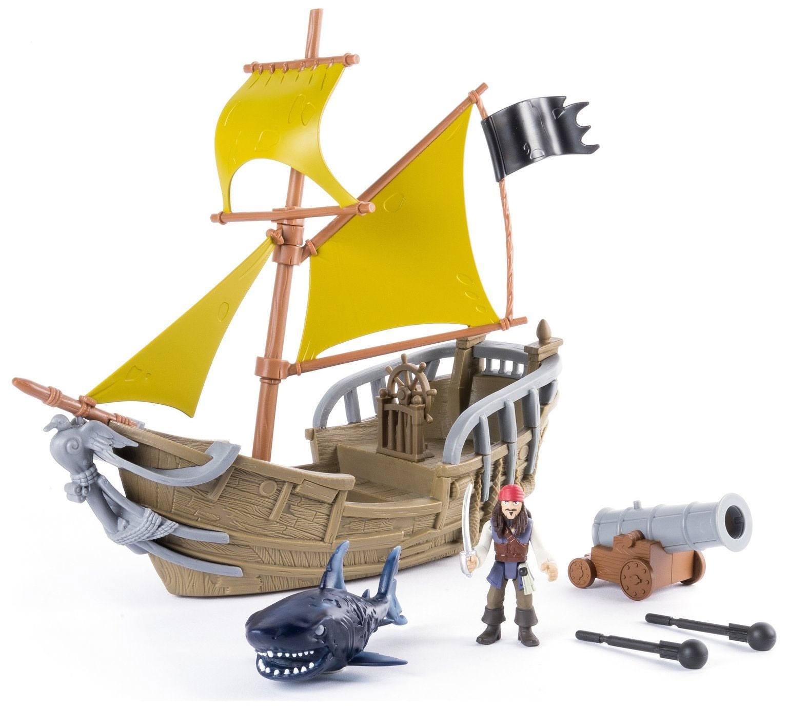 Pirates of the Caribbean Playset Jack's Pirate Ship