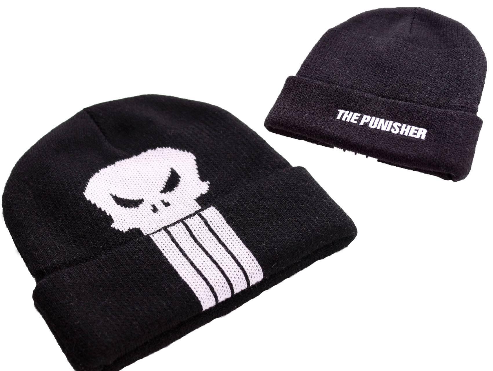 Marvel Comics Beanie Punisher Logo