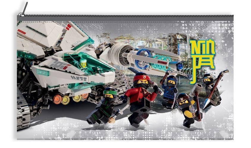 LEGO Ninjago Movie Pencil Case 22 cm