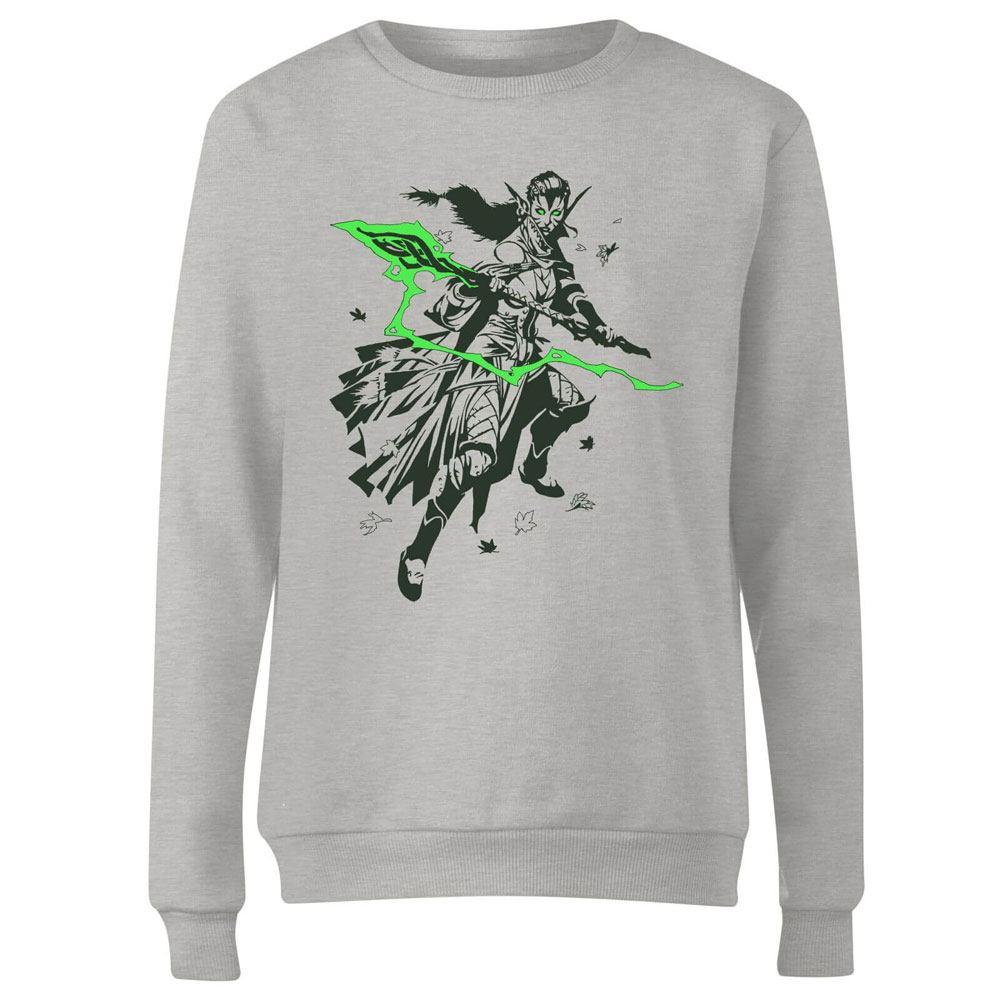 Magic the Gathering Ladies Sweatshirt Nissa Character Art Size S