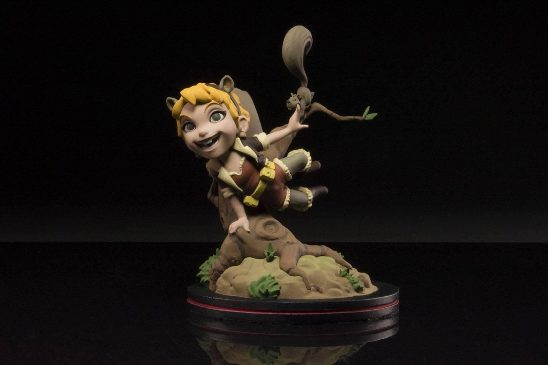 Marvel Q-Fig Diorama Squirrel Girl 10 cm
