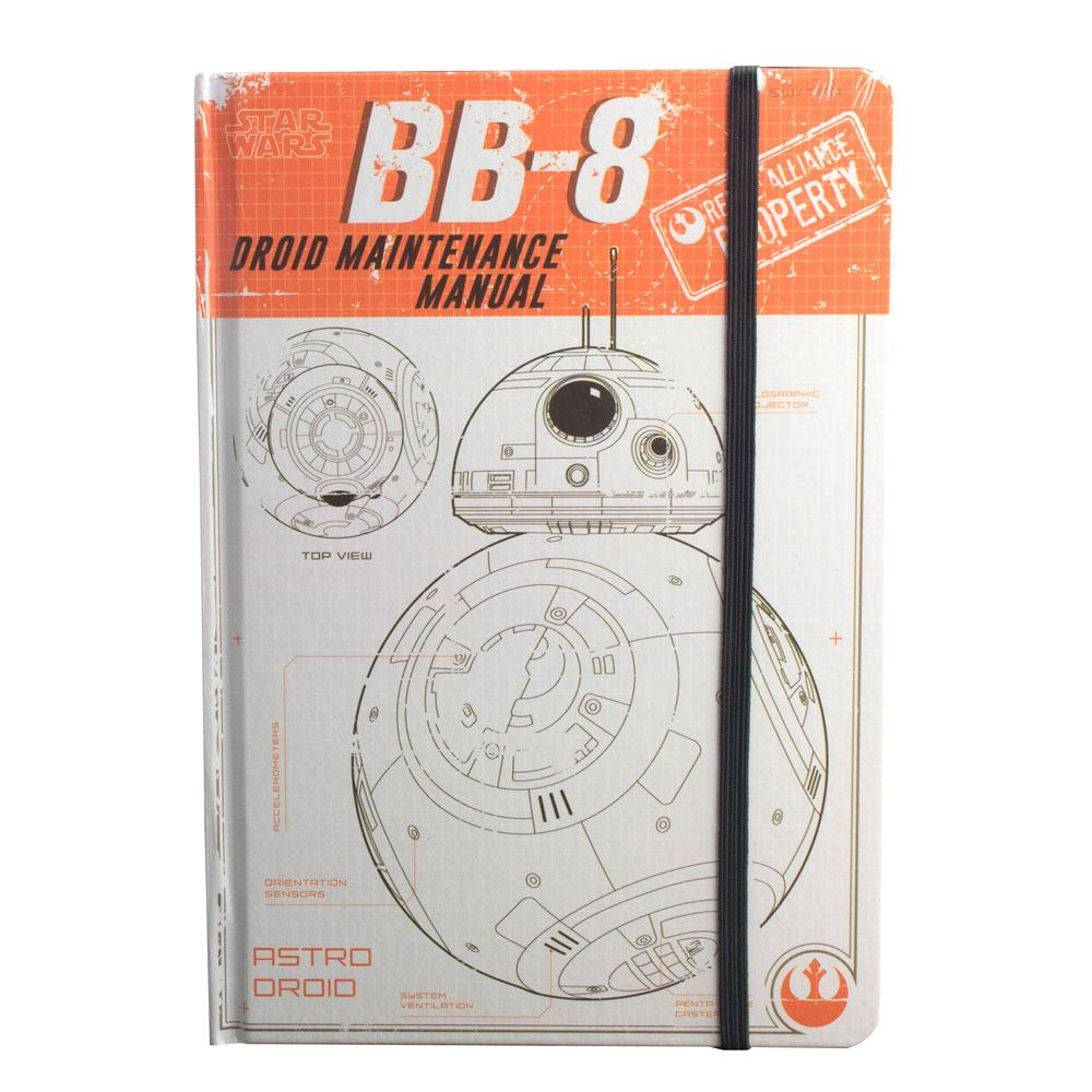 Star Wars Rogue One A5 Notebook BB-8 Droid Maintenance Manual