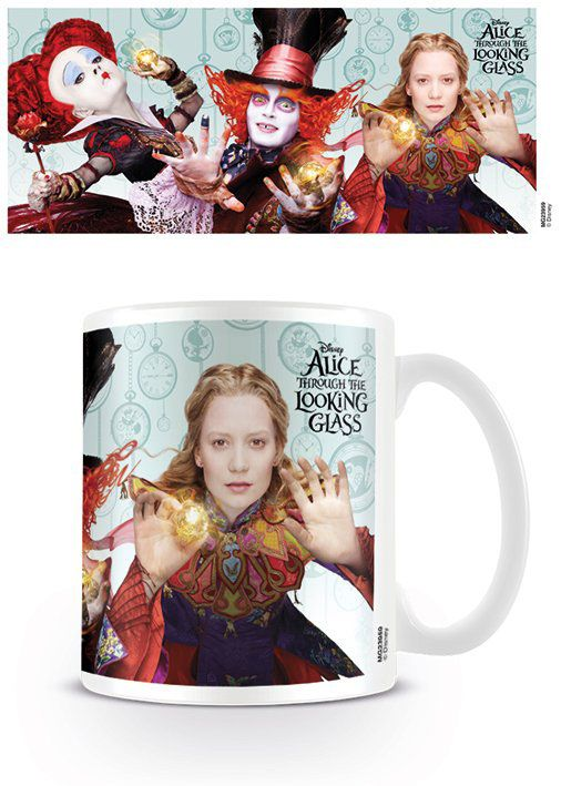 Alice Through the Looking Glass Mug Characters