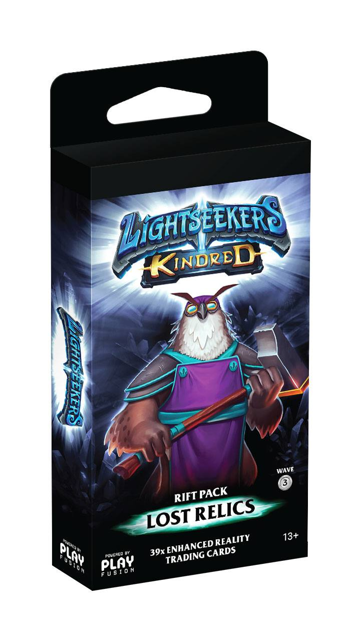 Lightseekers TCG Wave 3 Kindred Rift Packs Lost Relics Display (10) english