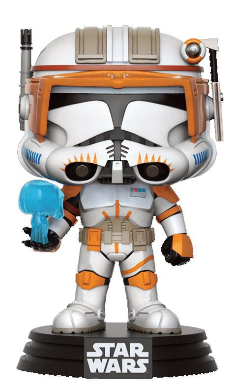 Star Wars POP! Vinyl Bobble-Head Figure Clone Commander Cody 9 cm