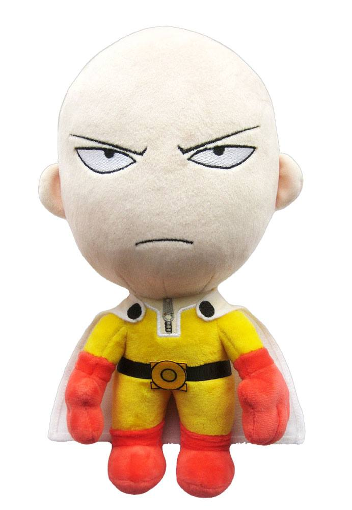 One-Punch Man Plush Figure Saitama Angry Version 28 cm