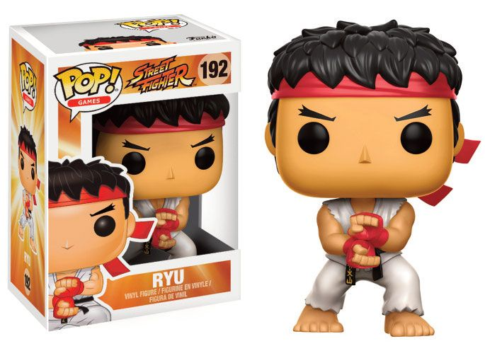 Street Fighter POP! Games Vinyl Figure Ryu (Special Attack) 9 cm