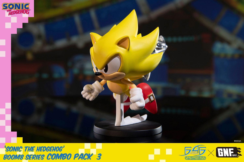 Sonic The Hedgehog BOOM8 Series PVC Figure Vol. 06 Super Sonic 8 cm