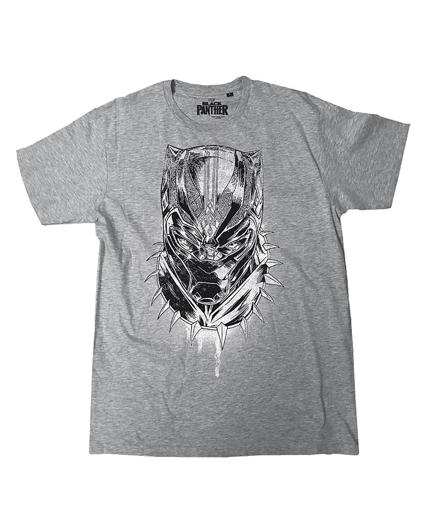 Black Panther T-Shirt Head Size XL