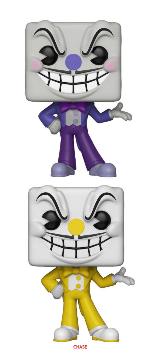Cuphead POP! Games Figures King Dice 9 cm Assortment (6)