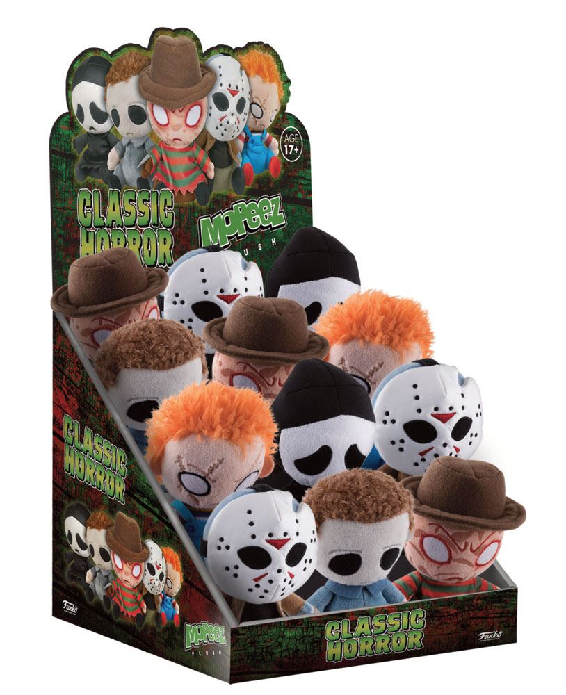 Horror Classics Mopeez Plush Figure 12 cm Display (12)