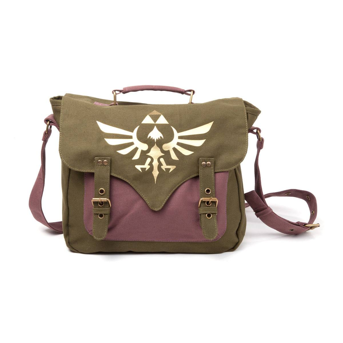 The Legend of Zelda Messenger Bag Golden Triforce