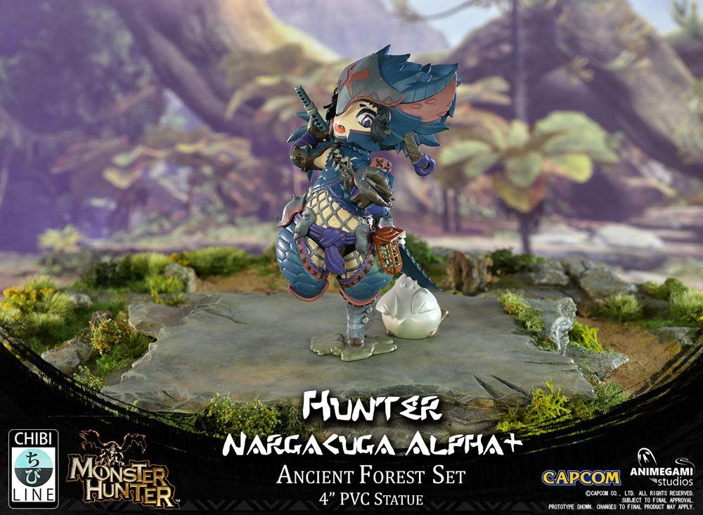 Monster Hunter PVC Statue Nargacuga Alpha+ 10 cm