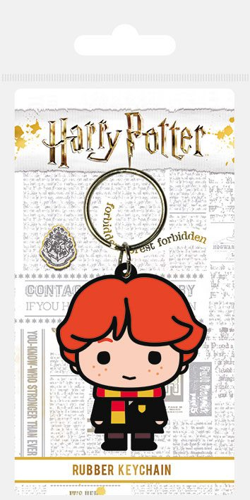 Harry Potter Rubber Keychain Chibi Ron 6 cm