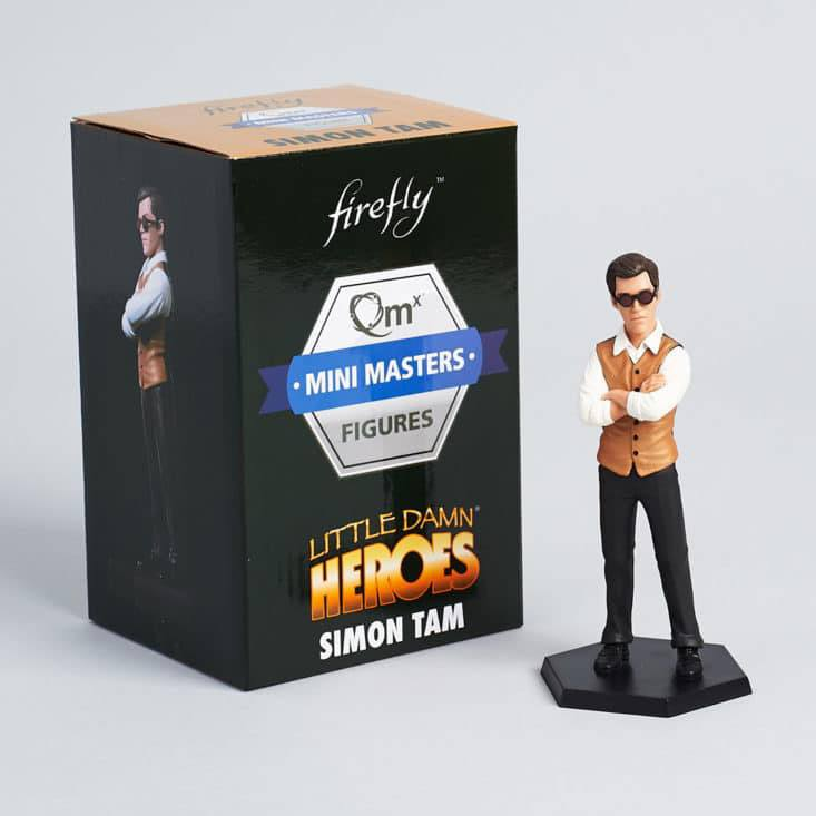 Firefly Mini Masters Figure Simon Tam 13 cm