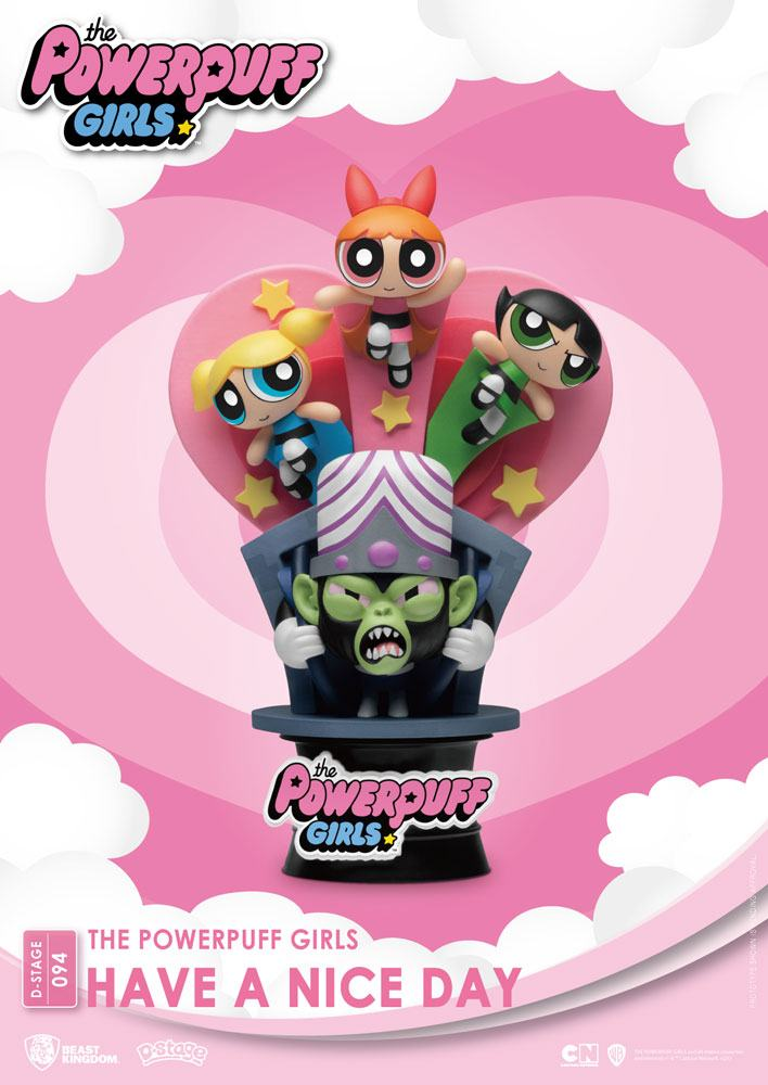 The Powerpuff Girls D-Stage PVC Diorama Have A Nice Day Standard Version 15 cm