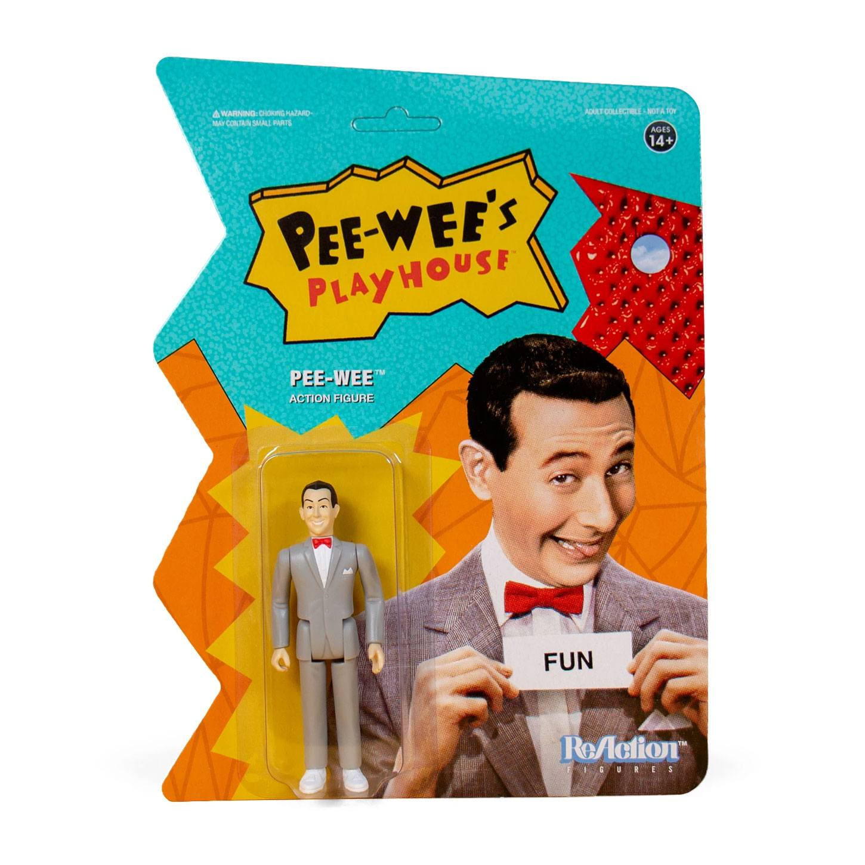 Pee-wee's Playhouse ReAction Action Figure Pee Wee 10 cm