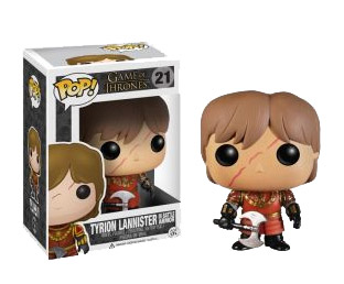 Game of Thrones POP! Vinyl Figure Tyrion in Battle Armour 10 cm