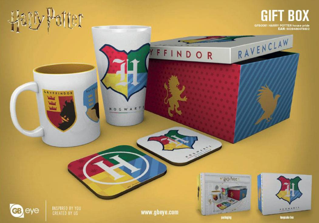 Harry Potter Gift Box House Pride