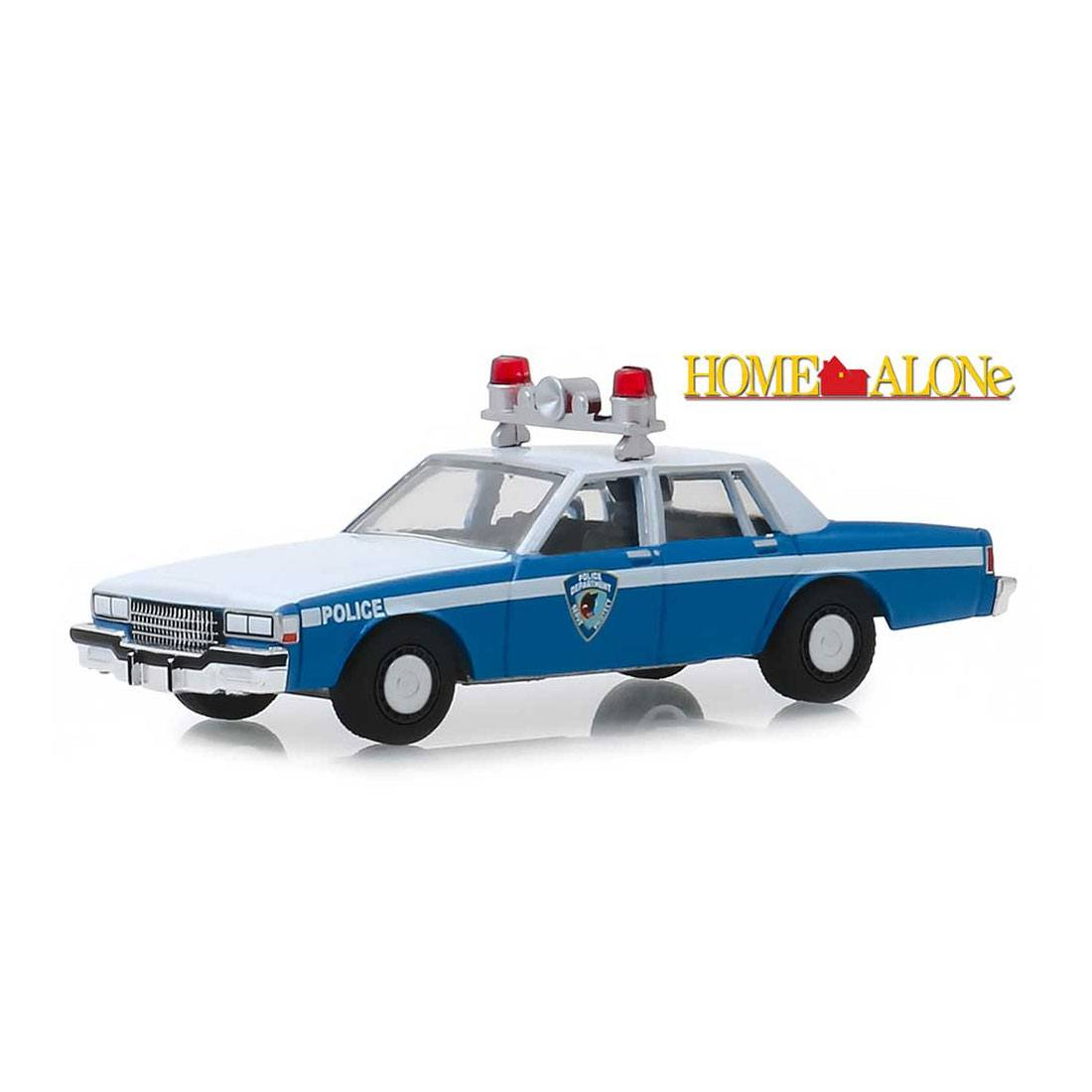 Home Alone Diecast Model 1/64 1986 Chevrolet Caprice Wilmette Illinois Police