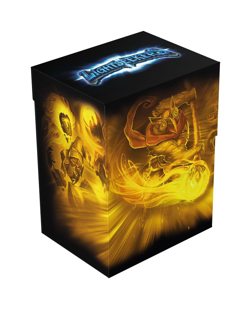 Lightseekers Basic Deck Case 80+ Standard Size Astral