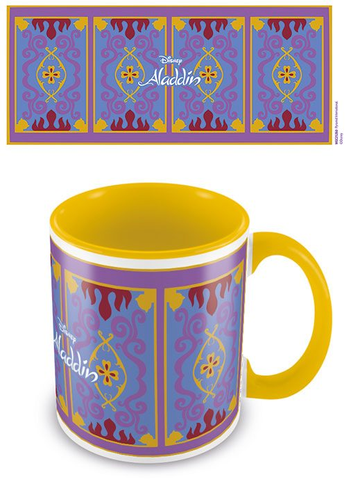 Aladdin Coloured Inner Mug Magic Carpet