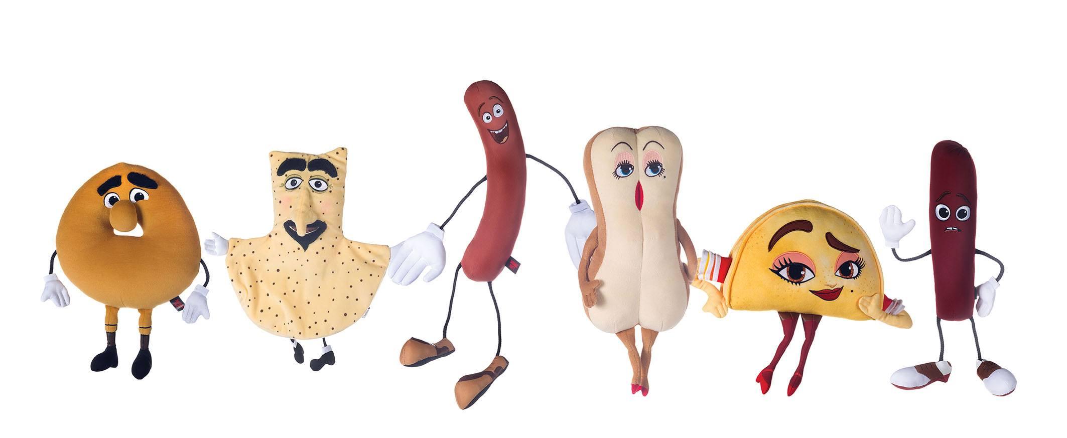 Sausage Party Plush Figures 16 - 23 cm Assortment (18)
