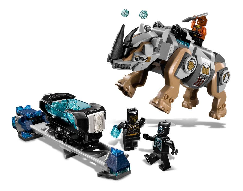 LEGO® Marvel Super Heroes™ Black Panther - Rhino Face-Off by the Mine